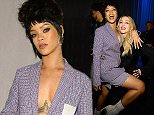 NEW YORK, NY - MARCH 30:  (Exclusive Coverage) Rihanna and Madonna attend  the Tidal launch event #TIDALforALL at Skylight at Moynihan Station on March 30, 2015 in New York City.  (Photo by Kevin Mazur/Getty Images For Roc Nation)