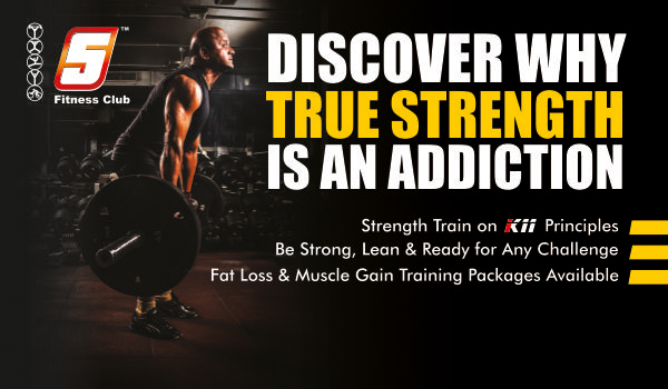 Discover Why True Strength is an Addiction : 5 Fitness Club Juhu