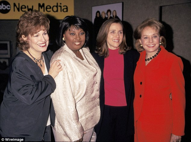 Good old days: Joy Behar, Star Jones, Meredith Vieira and Barbara Walters from The View