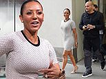 Mandatory Credit: Photo by Buzz Foto/REX (4600618b)  Melanie Brown and Stephen Belafonte  Mel B and Stephen Belafonte out and about, New York, America - 31 Mar 2015