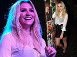 LOS ANGELES, CA - MARCH 30:  Kesha backstage at Brian Fest: A Night To Celebrate The Music Of Brian Wilson at The Fonda Theatre on March 30, 2015 in Los Angeles, California.  (Photo by Jeff Kravitz/FilmMagic)