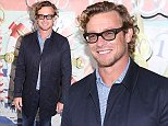 VIPs attended the Audi Hamilton Island Race Week launch event at North Bondi Fish in Sydney.....Pictured: Simon Baker..Ref: SPL988325  310315  ..Picture by: Richard Milnes/Splash News....Splash News and Pictures..Los Angeles: 310-821-2666..New York: 212-619-2666..London: 870-934-2666..photodesk@splashnews.com..