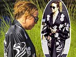 Picture Shows: Mariah Carey  March 30, 2015\n \n Singer Mariah Carey is seen catching a flight out of St. Barts, France. \n \n Mariah, who recently celebrated her forty-fifty birthday, has spent the last week partying and enjoying a vacation with Director Brett Ratner.\n \n Exclusive All Rounder\n UK RIGHTS ONLY\n \n Pictures by : FameFlynet UK © 2015\n Tel : +44 (0)20 3551 5049\n Email : info@fameflynet.uk.com