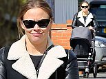 31.MARCH.2015 - LONDON - UK ** EXCLUSIVE ALL ROUND PICTURES ** ENGLISH SINGER AND EX GIRLS ALOUD MEMBER KIMBERLEY WALSH SPOTTED WEARING FLOWERY PATTERNED TROUSERS WHILE TAKING SON BOBBY OUT FOR A WALK IN NORTH LONDON!  BYLINE MUST READ : XPOSUREPHOTOS.COM ***UK CLIENTS - PICTURES CONTAINING CHILDREN PLEASE PIXELATE FACE PRIOR TO PUBLICATION *** **UK CLIENTS MUST CALL PRIOR TO TV OR ONLINE USAGE PLEASE TELEPHONE 0208 344 2007**