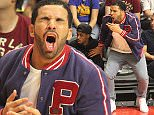 Drake seen out watching the Clippers game on Tuesday March 31, 2015. The Golden State Warriors defeated the Los Angeles Lakers by the final score of 110-106 at Staples Center in downtown Los Angeles, CA.  Pictured: Drake Ref: SPL989349  310315   Picture by: London Ent / Splash News  Splash News and Pictures Los Angeles: 310-821-2666 New York: 212-619-2666 London: 870-934-2666 photodesk@splashnews.com