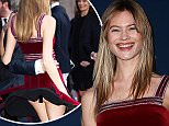 PARIS, FRANCE - MARCH 31:  Behati Prinsloo attends the Tommy Hilfiger Boutique opening on March 31, 2015 in Paris, France.  (Photo by Pierre Suu/GC Images)