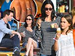 EXCLUSIVE: Courteney Cox and her fiance Johnny McDaid spend a day at Disneyland with Courteney's daughter Coco. The family were seen riding rides all over the park including Toy Story Mania, Radiator springs racers, the little mermaid ride and many more rides. They were also seen having ice cream near the pier in california adventure.\nJohnny McDaid was seen wearing a ring on his wedding ring finger. are they married already?\n\nPictured: Courteney Cox, Coco Arquette, and Johnny McDaid\nRef: SPL988895  010415   EXCLUSIVE\nPicture by: Fern / Sharpshooter Images\n\nSplash News and Pictures\nLos Angeles: 310-821-2666\nNew York: 212-619-2666\nLondon: 870-934-2666\nphotodesk@splashnews.com\n