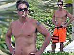 Picture Shows: Rob Lowe  March 30, 2015    Actor Rob Lowe enjoying a day on the beach in Maui, Hawaii. Rob's left leg seems to be healing pretty good after he scraped it on the reef while surfing last week.    Rob is looking pretty buff for a man in his 50's!    Exclusive All Rounder  UK RIGHTS ONLY  Pictures by : FameFlynet UK    2015  Tel : +44 (0)20 3551 5049  Email : info@fameflynet.uk.com