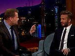David Beckham embarrasses Brooklyn on the 'Late Late Show?