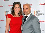 Felicity Blunt and actor Stanley Tucci attend the Center For Reproductive Rights Inaugural Gala at Jazz at Lincoln Center on October 24, 2012 in New York City.  (Photo by J. Countess/Getty Images)