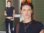 Beverly Hills, CA - Alessandra Ambrosio makes shopping look sexy as she gets some retail therapy with a friend at Crate & Barrel in Beverly Hills. The Victoria's Secret model looked hot in a midriff baring black tee, distressed denim skinnies and brown leather booties.\nAKM-GSI   April  1, 2015\nTo License These Photos, Please Contact :\nSteve Ginsburg\n(310) 505-8447\n(323) 423-9397\nsteve@akmgsi.com\nsales@akmgsi.com\nor\nMaria Buda\n(917) 242-1505\nmbuda@akmgsi.com\nginsburgspalyinc@gmail.com