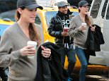 "Pregnant Jennifer Carpenter and co star Hill Harper leaves their hotel to movie set ""Limitless"" in New York on April 1, 2015.\n\nPictured: Jennifer Carpenter, Hill Harper\nRef: SPL989692  010415  \nPicture by: NIGNY / Splash News\n\nSplash News and Pictures\nLos Angeles: 310-821-2666\nNew York: 212-619-2666\nLondon: 870-934-2666\nphotodesk@splashnews.com\n"