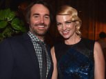 """LOS ANGELES, CA - FEBRUARY 24:  Actors Will Forte and January Jones attend the after party for the premiere of Fox's """"The Last Man On Earth"""" at  on February 24, 2015 in Los Angeles, California.  (Photo by Alberto E. Rodriguez/Getty Images)"""