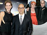 Mandatory Credit: Photo by Startraks Photo/REX (3869989ae)  Felicity Blunt and Stanley Tucci  'Transformers: Age of Extinction' film premiere, New York, America - 25 Jun 2014