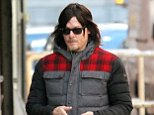 1.APRIL.2015 - NEW YORK - USA THE WALKING DEAD STAR NORMAN REEDUS IS BUSY TEXTING WHILE WALKING IN MANHATTAN'S SOHO NEIGHBOURHOOD. BYLINE MUST READ : XPOSUREPHOTOS.COM *AVAILABLE FOR UK SALE ONLY* ***UK CLIENTS - PICTURES CONTAINING CHILDREN PLEASE PIXELATE FACE PRIOR TO PUBLICATION *** *UK CLIENTS MUST CALL PRIOR TO TV OR ONLINE USAGE PLEASE TELEPHONE 0208 344 2007*