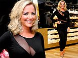 Scottish bra tycoon Michelle Mone opening the new Ultimo concession in Debenhams Glasgow, Scotland, April 2, 2015, where she previewed her new Spring/Summer collection.
