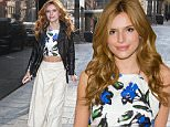 Bella Thorne arrives at 'Good Day New York' in New York.\n\nPictured: Bella Thorne\nRef: SPL989889  020415  \nPicture by: Fortunata/Splash News\n\nSplash News and Pictures\nLos Angeles: 310-821-2666\nNew York: 212-619-2666\nLondon: 870-934-2666\nphotodesk@splashnews.com\n