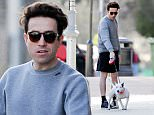 Nick Grimshaw pictured out walking his dog with a female friend on a mild sunny afternoon, Nick made most of the mild sun sporting a pair of shorts.\n\nPictured: Nick Grimshaw\nRef: SPL989587  020415  \nPicture by: KP Pictures / Splash News\n\nSplash News and Pictures\nLos Angeles: 310-821-2666\nNew York: 212-619-2666\nLondon: 870-934-2666\nphotodesk@splashnews.com\n