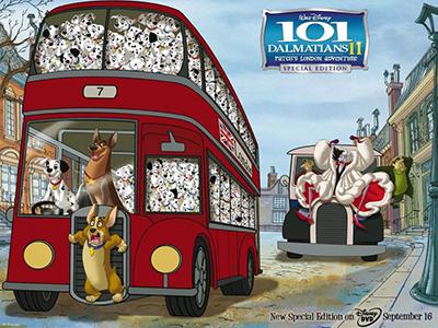 Кадр из мультфильма 101 далматинец 2: Приключения Патча в Лондоне