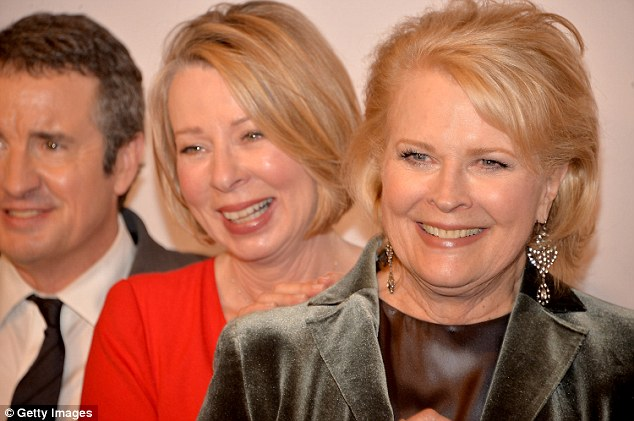 The series was created by Diane English (above with Candice Bergen), who was behind the show Murphy Brown, about a female news anchor