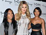 Mandatory Credit: Photo by Startraks Photo/REX (4573572f)  Malika Haqq, Khloe Kardashian, Khadijah Haqq  Khloe Kardashian Hosts at 1 OAK, 1 OAK Nightclub at The Mirage Hotel & Casino, Las Vegas, America - 20 Mar 2015  Khloe Kardashian Hosts at 1 Oak Nightclub