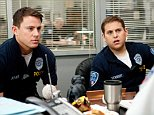 No Merchandising. Editorial Use Only. No Book Cover Usage.. Mandatory Credit: Photo by Snap Stills/REX (2209452j).. Channing Tatum, left, and Jonah Hill -.. 21 Jump Street - 2012.. ..