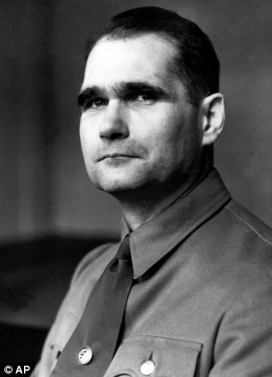 Hess was an early confidant of Hitler, who dictated much of his infamous manifesto Mein Kampf to him while imprisoned during the 1920s