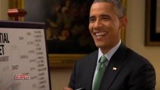 Obama, ESPN, Andy Katz, New, 2015, NCAA, Basketball