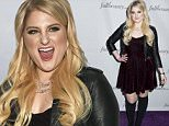 Meghan Trainor launches FullBeauty.com at Guastavino's in NY.\n\nPictured: Meghan Trainor \nRef: SPL990614  020415  \nPicture by: Janet Mayer / Splash News\n\nSplash News and Pictures\nLos Angeles: 310-821-2666\nNew York: 212-619-2666\nLondon: 870-934-2666\nphotodesk@splashnews.com\n