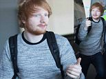 Ed Sheeran headed to Perth on Friday afternoon. The UK singer who was dressed in a grey wool jumper and jeans stopped for a large gathering of female fans before departing.