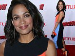 Picture Shows: Rosario Dawson  April 02, 2015\n \n Rosario Dawson arrives at the Netflix premiere of 'Marvel's Daredevil' held at the Regal Cinemas L.A. Live in Los Angeles, CA.\n \n Non-Exclusive\n UK RIGHTS ONLY\n \n Pictures by : FameFlynet UK © 2015\n Tel : +44 (0)20 3551 5049\n Email : info@fameflynet.uk.com