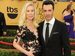 ***MANDATORY BYLINE TO READ INFPhoto.com ONLY***..Dale Soules attends the 21st Annual Screen Actors Guild Awards, SAG Awards, held at the Shrine Auditorium in Los Angeles, California.....Pictured: Reid Scott, Elspeth Keller..Ref: SPL936329  250115  ..Picture by: Jennifer Graylock/INFphoto.com....