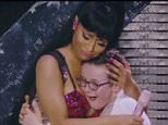 Get your life from the little boy in this video pls ????. Look at how he stopped crying wen he laid his head on dem thangz. They have real power beaming out of them that can cure the sick ?????? #Belfast I love u so much. Wow. Life tonight. #ThePinkprintTOUR