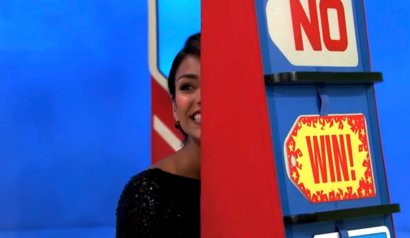 'Price is Right' Model Gives Away A Car