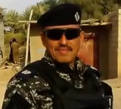 The Iraqi police officer beheaded by Islamic militants