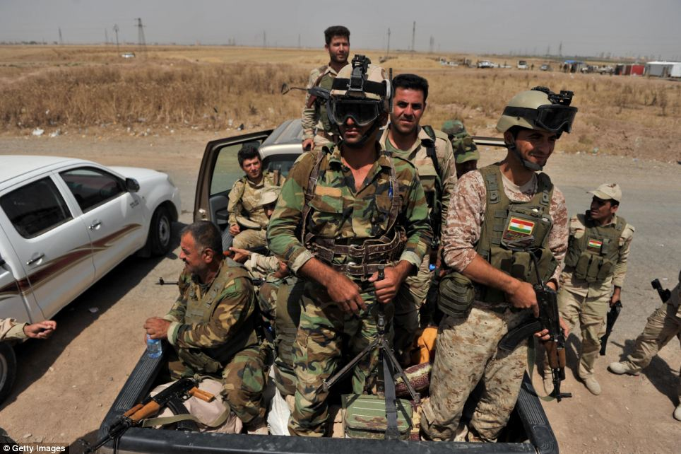 Iraqi Kurds seized control of the oil city of Kirkuk today as the central government's army abandoned its posts in a rapid collapse that has lost its control of the north