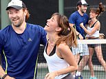**EXCLUSIVE** Credit: MOVI Inc.  Date: March 18th 2015\\nHas actor Joel Edgerton finally found his perfect match? The notoriously private star can be seen getting very flirty on a tennis date with Mexican actress Fernanda Romero in Los Angeles,Ca. After a warm up game with some friends Edgerton met up with the attractive Latin actress for a knock around in Beverly Hills and the pair seemed very into each other with Edgerton reaching out and affectionately touching Romero's leg at one point as he took a phone call. This all before the chemistry became too much and the couple errupted into a full on play fight towards the end of their game. Edgerton was also sporting a red dyed mullet hair do, presumably for a movie role.