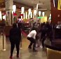 SEE IT: Massive 400-person brawl breaks out at Resorts World Casino in Queens  BY THOMAS TRACY    NEW YORK DAILY NEWS Saturday, April 4, 2015, 1:14 AM A A A 5 1 SHARE THIS URL  A video of the fight shows patrons hurling chairs across the room at each other and swinging gold stanchions as if they were swords. PreviousNextA fight broke out five hours after the grand opening of the ResortsWorld Casino at Aqueduct Racetrack on April 4 , 2015.  A fight broke out five hours after the grand opening of the ResortsWorld Casino at Aqueduct Racetrack on April 4 , 2015.  A fight broke out five hours after the grand opening of the ResortsWorld Casino at Aqueduct Racetrack on April 4 , 2015.  A fight broke out five hours after the grand opening of the ResortsWorld Casino at Aqueduct Racetrack on April 4 , 2015. Enlarge PRETTYBRIITE/VIA TWITTER A video of the fight shows patrons hurling chairs across the room at each other and swinging gold stanchions as if they were swords.  All bets were off after