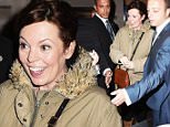 "Picture Shows: Olivia Colman  April 02, 2015\n \n Stars leave 'Letters Live' at The Freemasons Hall, London. ""Sherlock"" actress, Louise Brealey proved to be the biggest hit of the night as fans and autograph seekers mobbed round her.\n \n Non-Exclusive\n WORLDWIDE RIGHTS\n \n Pictures by : FameFlynet UK © 2015\n Tel : +44 (0)20 3551 5049\n Email : info@fameflynet.uk.com"