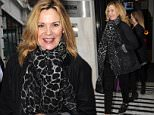 Kim Cattrall sighting at BBC Radio 2 Featuring: Kim Cattrall Where: London, United Kingdom When: 03 Apr 2015 Credit: WENN.com