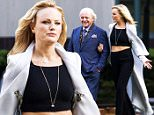 135060, EXCLUSIVE: FIRST ON-SET PHOTOS Malin Akerman shows off some skin as she joins the cast of 'Beyond Deceit' as she films scenes with Anthony Hopkins. The movie also stars Al Pacino, Josh Duhamel and Skye P Marshall. Anthony wore a smart blue suit while Malin held onto his arm wearing a long white jacket over her crop top and trousers. In the scene, the two had a body guard accompanying them as they walked through a city park. New Orleans, Louisiana - Thursday 2 April 2015. Photograph: © PacificCoastNews. Los Angeles Office: +1 310.822.0419 sales@pacificcoastnews.com FEE MUST BE AGREED PRIOR TO USAGE