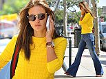 EXCLUSIVE: Alessandra Ambrosio spotted talking on the phone while out in LA.  Pictured: Alessandra Ambrosio Ref: SPL990663  020415   EXCLUSIVE Picture by: Adar / Splash News  Splash News and Pictures Los Angeles: 310-821-2666 New York: 212-619-2666 London: 870-934-2666 photodesk@splashnews.com