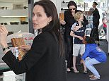 FAO MARC GOODWIN MAIL ONLINE ONLY EXCLUSIVE Angelina Jolie goes shopping for sunglasses at Optometrix with two of her children, Shiloh and Zahara Jolie-Pitt Featuring: Angelina Jolie, Zahara Jolie-Pitt, Shiloh Jolie-Pitt Where: Los Angeles, California, United States When: 03 Apr 2015 Credit: WENN.com