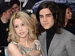 """English journalist Peaches Geldof with her husband and singer Thomas Cohen attend the European premiere of """"The Dark Knight Rises"""" at Odeon Leicester Square in London, England.     (Photo by Ian Gavan/Getty Images) FILE ñ 26 APRIL 2013:   Peaches Geldof and Thomas Cohen welcomed a baby boy named Phaedra on April 24, 2013.This is the couple's second child.  LONDON, ENGLAND - JULY 18 2012"""