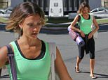EXCLUSIVE: Jessica Alba just back from vacations was spotted in her way for a yoga class not in the mood in LA.\n\nPictured: Jessica Alba\nRef: SPL986288  050415   EXCLUSIVE\nPicture by: PAT / Splash News\n\nSplash News and Pictures\nLos Angeles: 310-821-2666\nNew York: 212-619-2666\nLondon: 870-934-2666\nphotodesk@splashnews.com\n