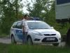 A dévaványai rendőrség is kivonult a kátyú temetéshez