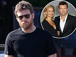 EXCLUSIVE TO INF...April 5, 2015: New dad, Sam Worthington, steps out and gets burritos to go at a local restaurant in Los Angeles, California...Mandatory Credit: INFphoto.com ..Ref.: infusla-257/277/302