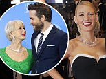 16th May, 2014:  Cannes\\nhe Captives Red Carpet at the 67th Cannes Film Festival. Pictured : Ryan Reynolds, Blake Lively\\n\\nCredit: GoffPhotos.com  Ref: KGC-322