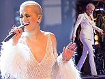 Programme Name: The Voice - TX: 04/04/2015 - Episode: FINAL 2015 EP14 (No. 14) - Picture Shows: ** THE VOICE - FINAL ** Ricky Wilson, Rita Ora, Will.i.am - (C) WALL TO WALL - Photographer: GUY LEVY