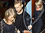 Taylor Swift and rumored boyfriend Calvin Harris spotted holding hands after watching the band HAIM perform at Troubadour Club in West Hollywood, CA. The new rumored couple were spotted exiting out the back of the club holding hands.  Pictured: Taylor Swift, Calvin Harris Ref: SPL984623  030415   Picture by: MEP/Splash News  Splash News and Pictures Los Angeles: 310-821-2666 New York: 212-619-2666 London: 870-934-2666 photodesk@splashnews.com